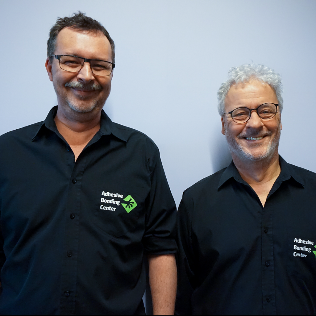 Frank van den Reek Jeroen Dinkla Adhesive Bonding Center Founders